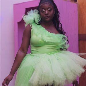 Beautiful tutu dress .. ( proms, sweet 16 ect)